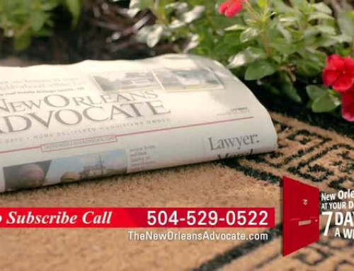 New Orleans Advocate Commercial | Version #2