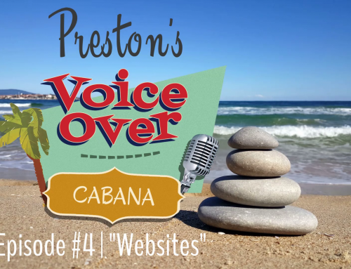 "Preston's VoiceOver Cabana | Episode #4 – ""Websites"""